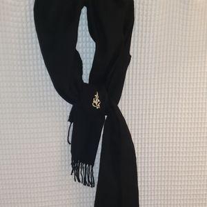 NWT Ann Taylor black wool blend pashmina